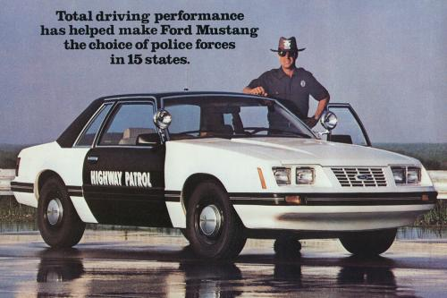1982 – The Start of The Police Mustangs