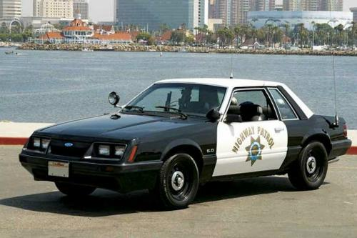 1986 Severe Service Package Ford Mustang – CHiPs LX