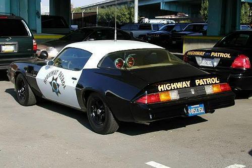 California Highway Patrol 1979 Z28 Camaro
