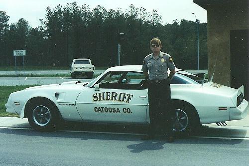 Catoosa County Sheriff Pontiac Trans Am