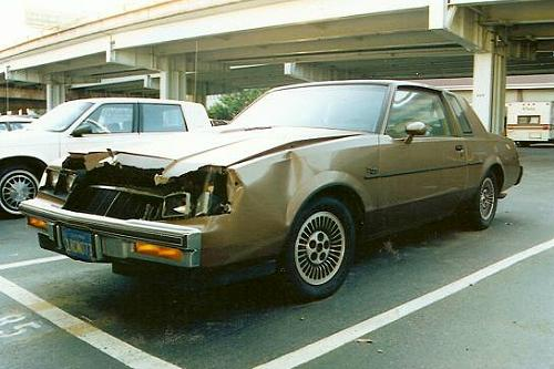 Federal Bureau of Investigation (FBI) 1986 Buick Regal T-Type