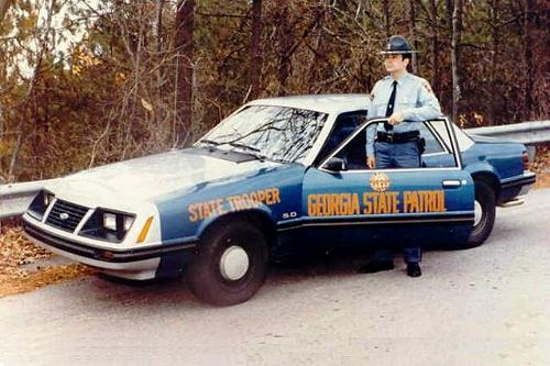 Georgia State Patrol 1983 SSP Ford Mustang Discovered