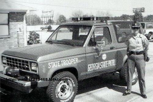 Georgia State Patrol Ford Bronco II