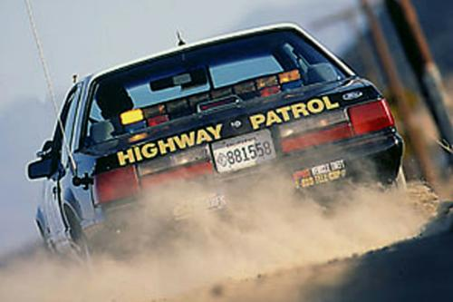 Hot Pursuit – Riding Shotgun With The CHP