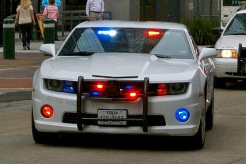 Houston Texas Police 2011 Chevy Camaro's