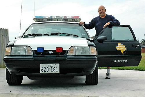 Jorge Trevino's 1991 SSP Mustang