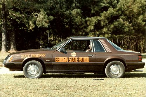 The kapracing Georgia State Patrol Photo Collection
