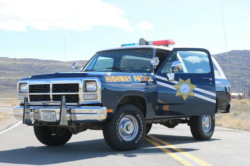 1993 Nevada Highway Patrol Ramcharger
