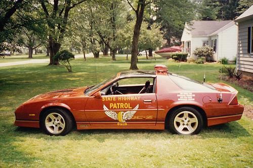 Ohio State Highway Patrol IROC-Z Camaro