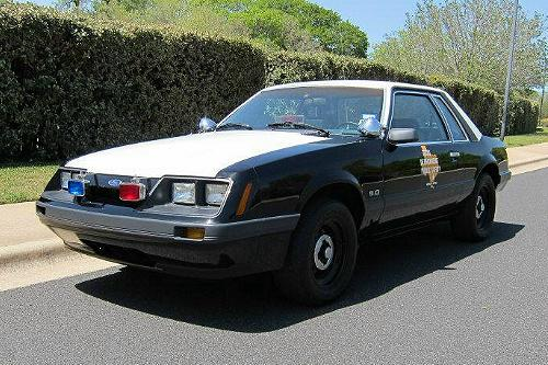Restoring A Texas DPS (M6-307) 1986 SSP Ford Mustang