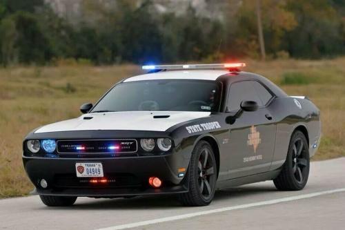Texas Highway Patrol 2013 Dodge Challenger
