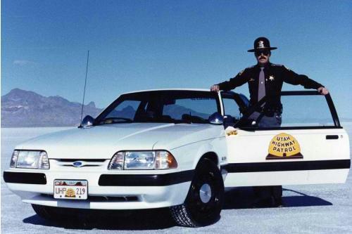 Utah Highway Patrol – The Mustang Years