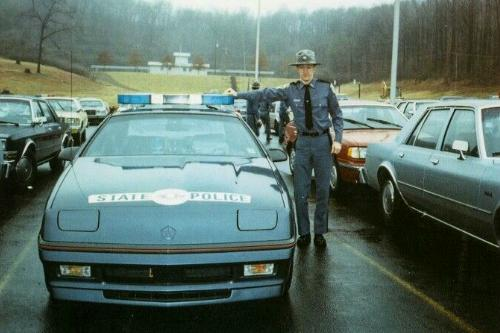 The West Virginia State Police Dodge Daytona