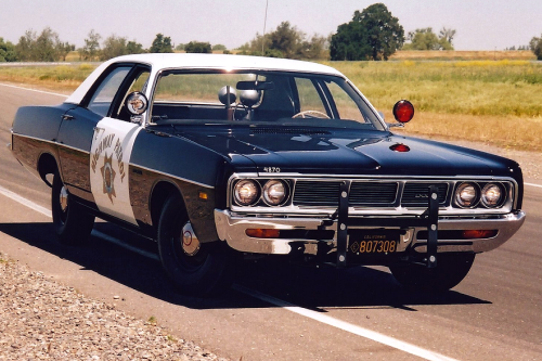 1969 Dodge Polara Pursuit – Record Setter
