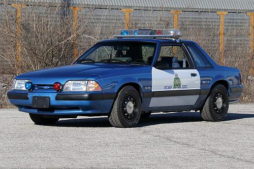 Royal Canadian Mounted Police SSP Ford Mustang