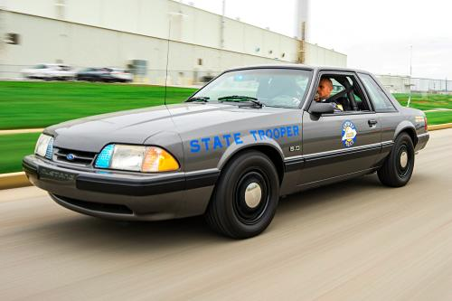 Kentucky State Police 1990 Ford Mustang