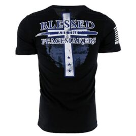 Blessed Are The Peacemakers Cross T-Shirt