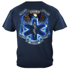 Emergency Medical Services – Service Before Self T-Shirt