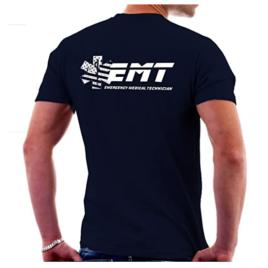 Black EMT T-Shirt