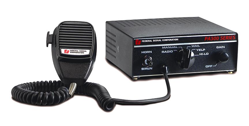 federal signal pa300 siren  code 3 garage
