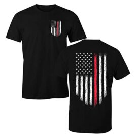 Firefighter Thin Red Line Flag T-Shirt