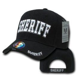 Black Sheriff Ball Cap