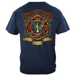 Volunteer Firefighter Maltese Cross T-Shirt