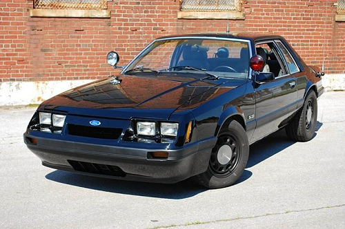 CHP 1985 SSP Ford Mustang #E408395