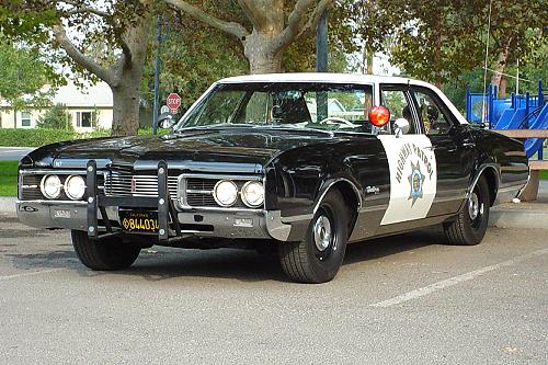 1967 Oldsmobile Delmont 88 California Highway Patrol