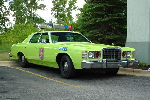 Cleveland Police Safety Green 1978 Ford LTD Car 611