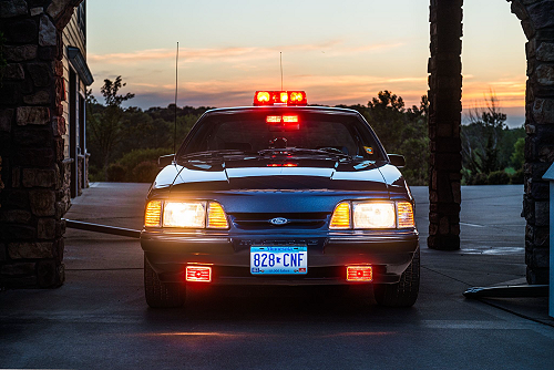 Minnesota State Patrol 1989 Ford Mustang
