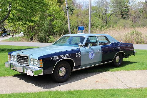 Massachusetts State Police 1978 Ford LTD
