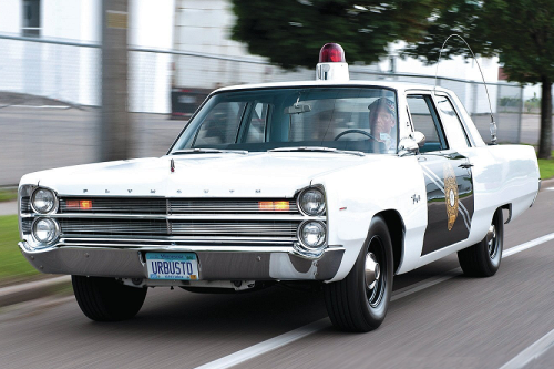 1967 Plymouth Fury – New Mexico State Police